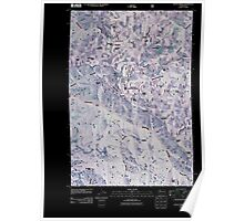USGS Topo Map Washington State WA Stentz Spring 20110421 TM Inverted Poster