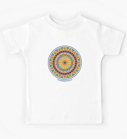 Modernist Art Mandala n1 Kids Tee