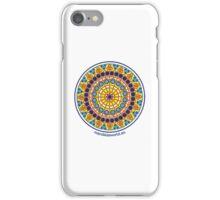 Modernist Art Mandala n1 iPhone Case/Skin