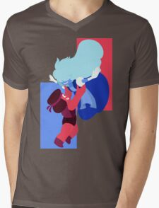 Ruby and Sapphire Mens V-Neck T-Shirt