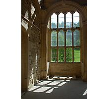 Ruined abbey interior Photographic Print