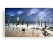After The Thunder Metal Print