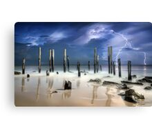 After The Thunder Canvas Print