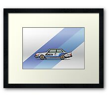 Volvo 240 242 Turbo Group A Homologation Race Car Framed Print