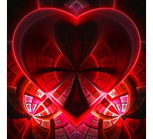 heart / red Photographic Print