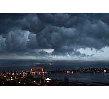 Stormy Duluth Photographic Print