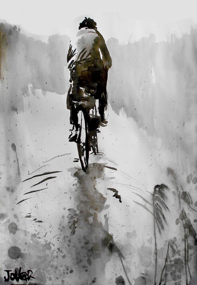 the cyclist by Loui  Jover