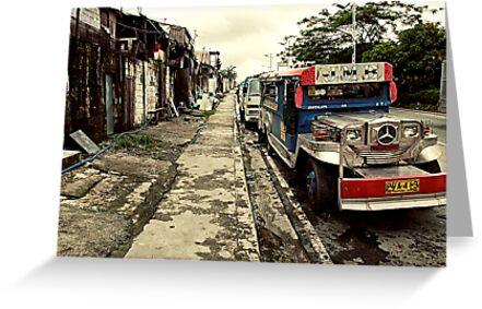 Mercedes Mazda Jeepney by Henny Boogert