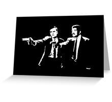 Cosmos Pulp Fiction Greeting Card