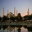 Sultan Ahmed (Blue) Mosque in Istanbul Turkey by Ryan Carter