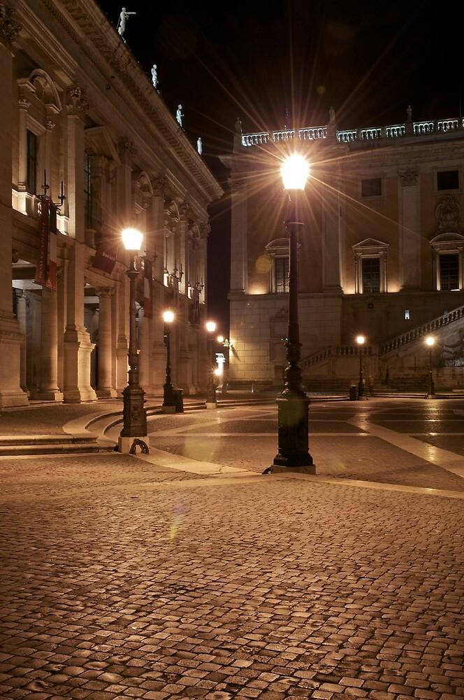 Roma - Piazza del Campidoglio by stefanomessori