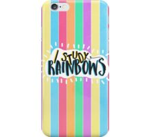 I Study Rainbows iPhone Case/Skin