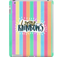 I Study Rainbows iPad Case/Skin