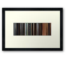 Moviebarcode: Star Wars: Episode II - Attack of the Clones (2002) Framed Print