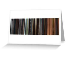 Moviebarcode: Star Wars: Episode II - Attack of the Clones (2002) Greeting Card