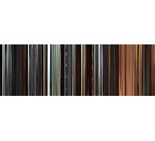 Moviebarcode: Star Wars: Episode II - Attack of the Clones (2002) Photographic Print