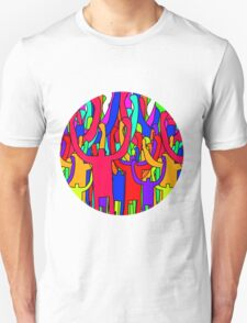 Colourful Crowd T-Shirt