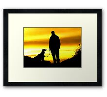 Love and Loyalty Framed Print