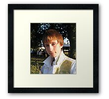 Young Actor Framed Print