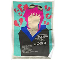 Scott Pilgrim Verses The World - Saul Bass Inspired Poster Poster