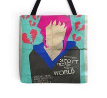 Scott Pilgrim Verses The World - Saul Bass Inspired Poster Tote Bag