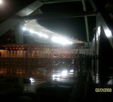 Durban Moses Mabhida Stadium at Night by PMIHOLDINGS