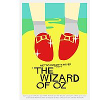 Wizard Of Oz - Saul Bass Inspired Poster (Untextured) Photographic Print