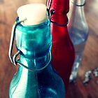 bottles in line by chantilly-dream