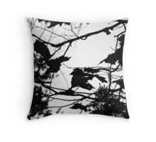 Art by Mother Nature's Hand Throw Pillow
