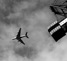 Plane & Crane by domwilson94