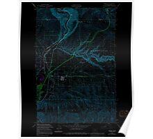 USGS Topo Map Washington State WA Pomona 243198 1953 24000 Inverted Poster