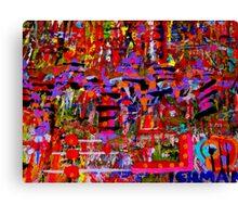 painting LEHMAN Canvas Print