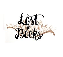Lost in Books Photographic Print