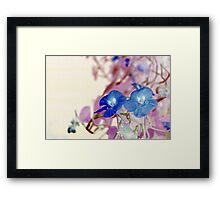 The two girls clubbing... Framed Print