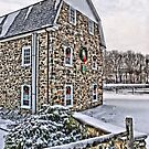 First Snow at the Mill by djphoto