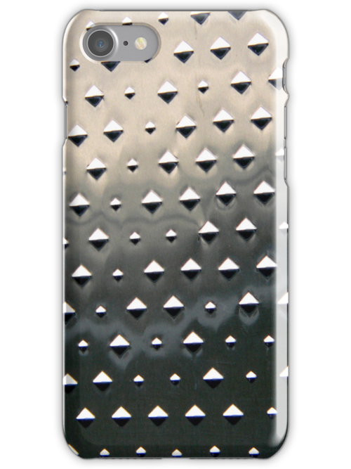 Metal plate iPhone by andytechie