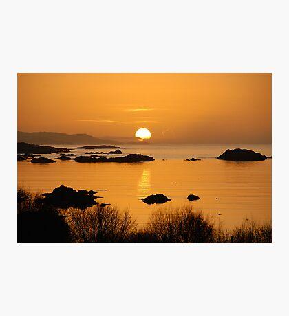 Pure gold - Kenmare, Ireland Photographic Print