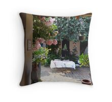 Open window - open invitation Throw Pillow