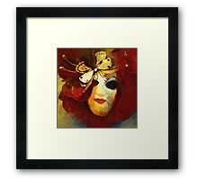 Gothic Mask 6 Framed Print