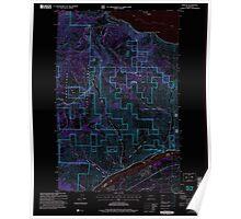 USGS Topo Map Washington State WA Winesap 244760 2004 24000 Inverted Poster