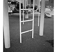 Monkey Bar Ladder Photographic Print