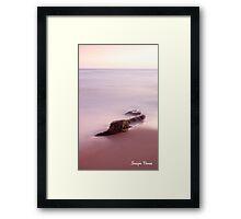 Minimalist Framed Print