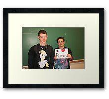 Life of a Brony Framed Print
