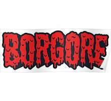 Borgore Blood Poster
