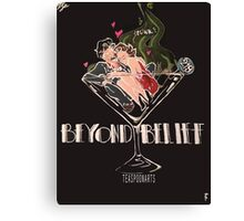 BEYOND BELIEF fandom art! Canvas Print