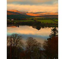 The Lake in November Photographic Print