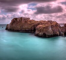 St Catherines Rock Tenby Pembrokeshire 2 by Steve Purnell