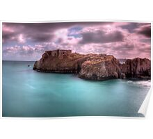 St Catherines Rock Tenby Pembrokeshire 2 Poster