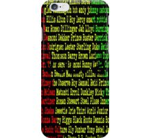 Reggae Artist - Roll Call Vol 2 iPhone Case/Skin