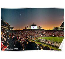 Jordan-Hare Stadium - Auburn University Poster